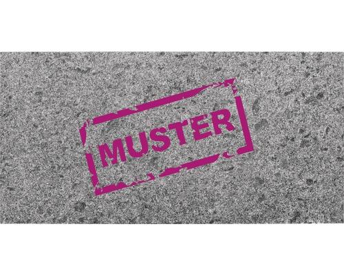 Muster zu Flairstone Granit Terrassenplatte silver grey