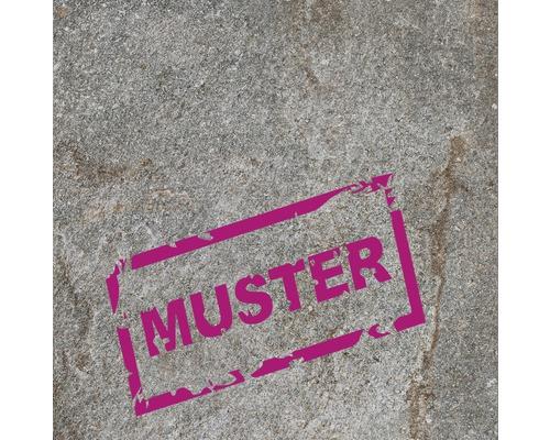 Muster zu Flairstone Feinsteinzeug Terrassenplatte Luserna doree