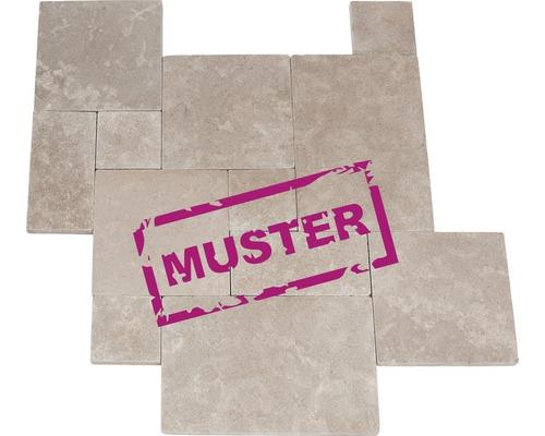 Muster zu Flairstone Kalkstein Terrassenplatte Tripoli