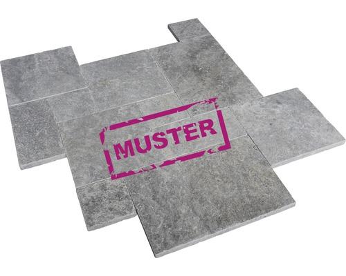 Muster zu Flairstone Travertin Terrassenplatte Genua