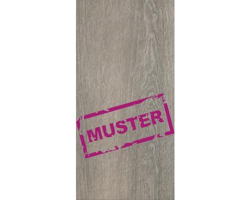 Muster zu Flairstone Feinsteinzeug Terrassenplatte Wood Teak