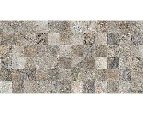 Dekorfliese Quarzit Gris 32x62,5 cm