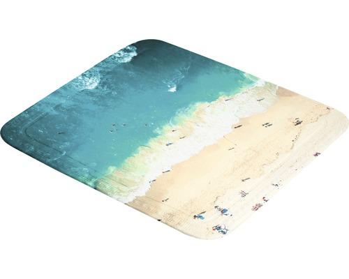 Duscheinlage Kleine Wolke Waikiki 55 x 55 cm multicolor