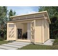 Gartenhaus weka She Shed 158 Gr.2 mit Fußboden 380 x 300 cm natur