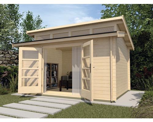 Gartenhaus weka She Shed 158 Gr.1 mit Fußboden 300 x 300 cm natur