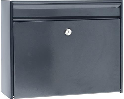 MEFA Briefkasten Stahl pulverbeschichtet BxHxT 380/311/135 Bosca 34 (101) grau