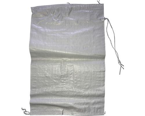PP Gewebesack 60 x 40 cm weiß inkl. Bindeband Pack a 10 Stück