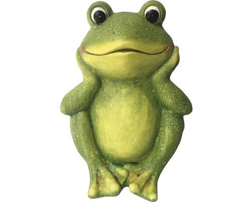 Frosch sitzend 26 x 22,2 x 35,2 cm