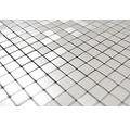 Aluminiummosaik Quadrat Alu Silver Silk brushed