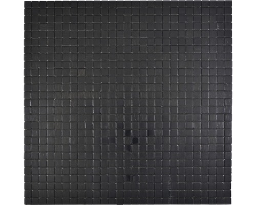 Aluminiummosaik Quadrat Alu black Silk brushed