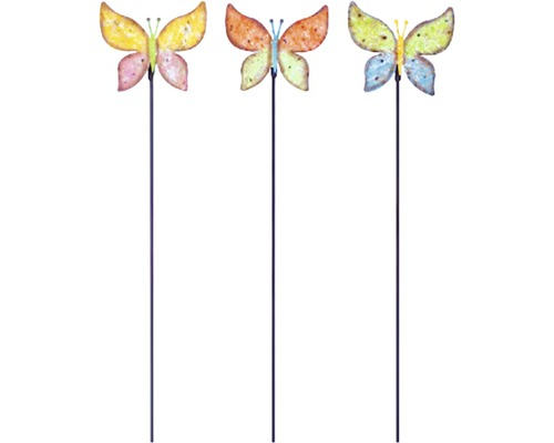 Dekostab Schmetterling H 91 cm