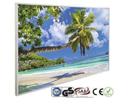papermoon Bildheizung Infrarot Palmen Strand 62 x 102 cm 600W