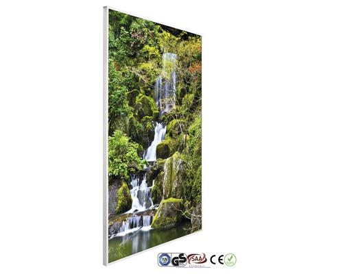 papermoon Bildheizung Infrarot Garten Teich 62 x 102 cm 600W