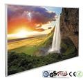 papermoon Bildheizung Infrarot Wasserfall Island 62 x 102 cm 600W