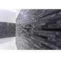 Glasmosaik mit Naturstein XCM MV798 grau/schwarz 29,8x33,8 cm