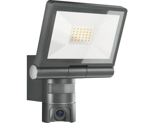 Steinel Sensor XLED CAM 1 IP44 21W 2200 lm 3000 K warmweiß BxH 210/275 mm + 8GB SD-Karte
