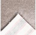 Teppichboden Frisé Leila schlamm 400 cm breit (Meterware)