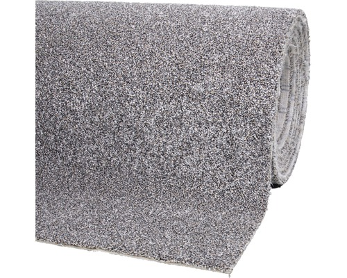 Teppichboden Shag Bravour grau-braun 400 cm breit (Meterware)