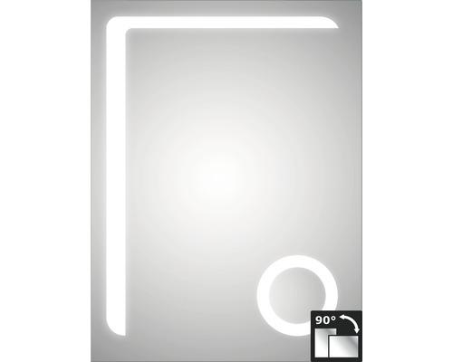 LED Badspiegel DSK Silver Arrow 60x80 cm IP 24 (spritzwassergeschützt)