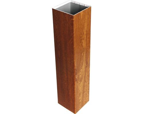 Pfosten Basicline zum einbetonieren, 8,7x8,7x155 cm, golden oak