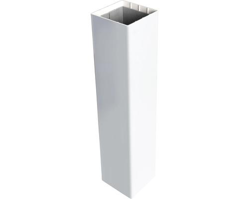 Pfosten GroJa Basicline zum Einbetonieren 8,7x8,7x215 cm weiß