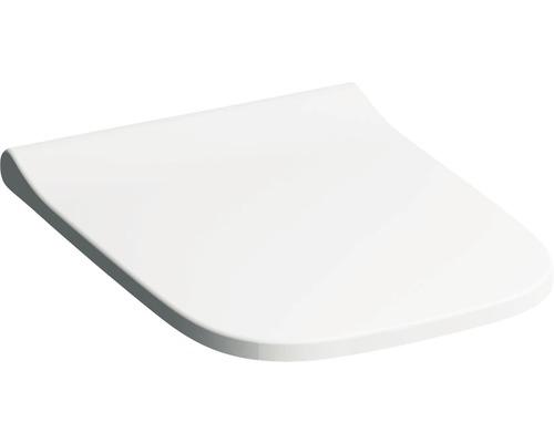 Keramag / GEBERIT WC-Sitz Smyle Square weiß schmales Design mit Absenkautomatik 500237011 antibakteriell