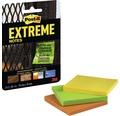 Post-it® Extreme Notes 3 Blöcke, 45 Blatt