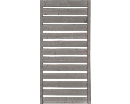 Teilelement Twist 90x135 cm Bicol hellgrau weiß