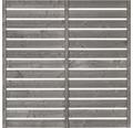 Hauptelement Twist 180x180 cm Bicol hellgrau weiß