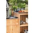 Gartenschrank/Outdoorküche Typ 453 60x92x58 cm Douglasie