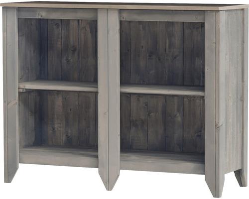 Gartenschrank/Outdoorküche Konsta Typ 559 Sideboard 115x40x88 cm hellgrau