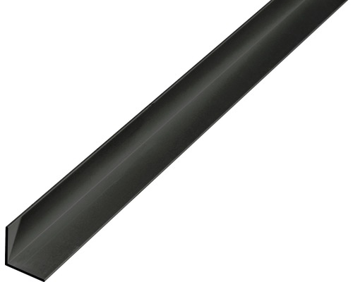 Winkelprofil Alu schwarz eloxiert 15x15x1 mm, 2 m