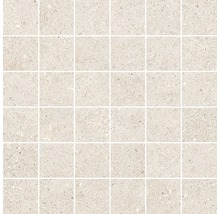 Feinsteinzeug Mosaik Sassi beige 30x30 cm