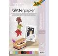 Glitterpapier 24x34 cm