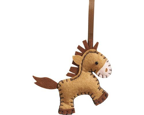 Kreativset Mini Filznähset Pferd