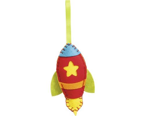 Kreativset Mini Filznähset Rakete