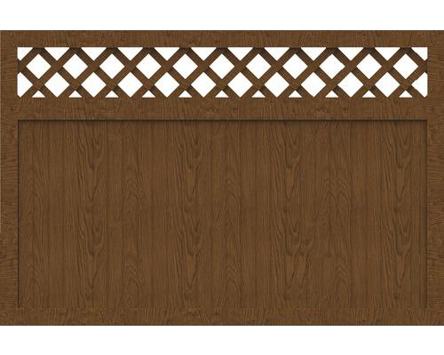 Sichtschutzelement Basic Line Typ N Golden Oak 180 x 120 x 4,8 cm