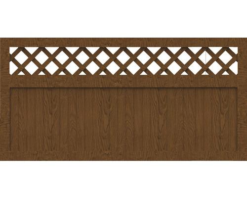 Sichtschutzelement Basic Line Typ K Golden Oak 180 x 90 x 4,8 cm