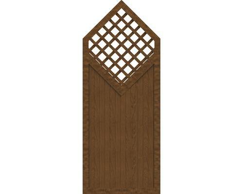 Sichtschutzelement Basic Line Typ D Golden Oak 90 x 225/180 x 4,8 cm