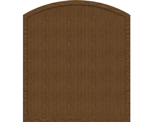 Sichtschutzelement Basic Line Typ F Golden Oak 180 x 205/180 x 4,8 cm