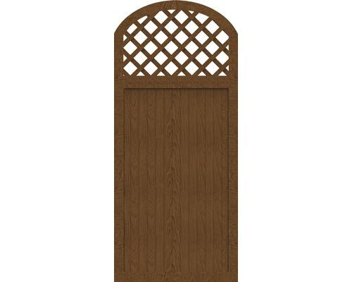 Sichtschutzelement Basic Line Typ Y Golden Oak 90 x 205/180 x 4,8 cm