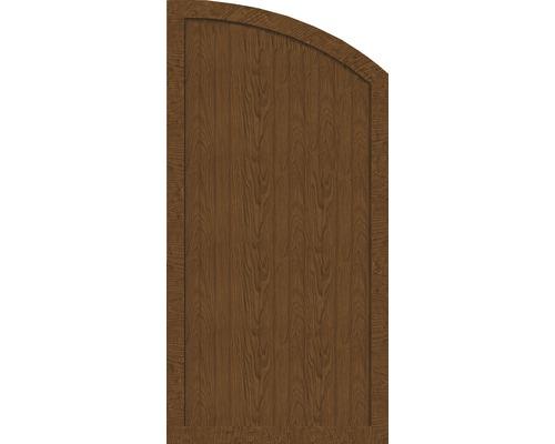 Sichtschutzelement Basic Line Typ H, rechts, Golden Oak 90 x 180/150 x 4,8 cm