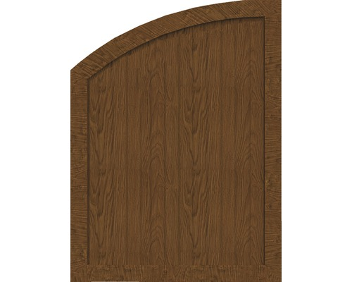 Sichtschutzelement Basic Line Typ R, links, Golden Oak 90 x 120/90 x 4,8 cm