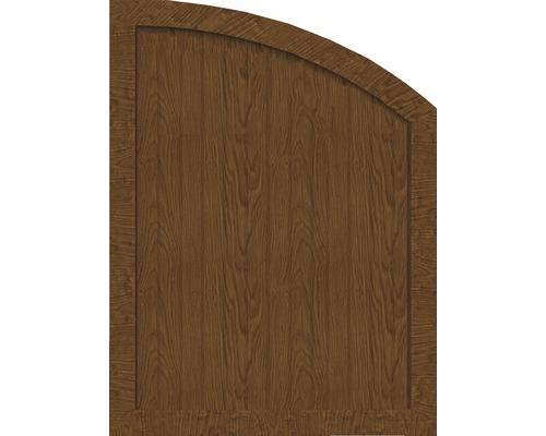 Sichtschutzelement Basic Line Typ R, rechts, Golden Oak 90 x 120/90 x 4,8 cm