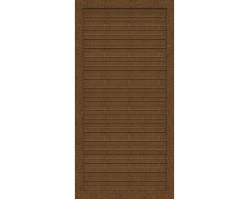 Sichtschutzelement Basic Line Typ T Golden Oak 90 x 180 x 4,8 cm