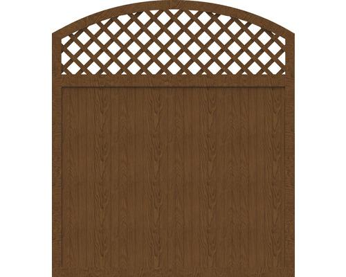 Sichtschutzelement Basic Line Typ X Golden Oak 180 x 205/180 x 4,8 cm