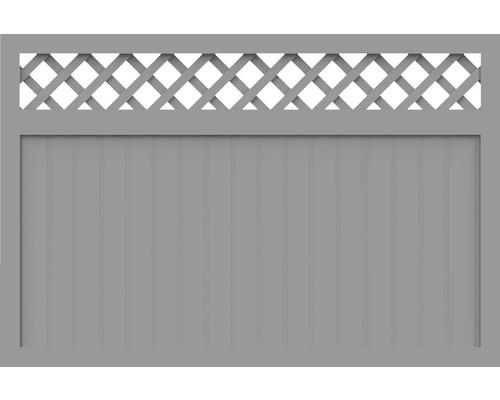 Sichtschutzelement Basic Line Typ N Grau 180 x 120 x 4,8 cm