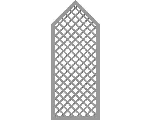 Sichtschutzelement Basic Line Typ P Grau 90 x 225/180 x 4,8 cm
