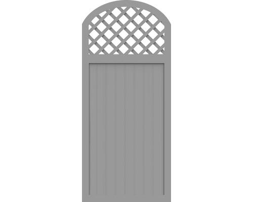 Sichtschutzelement Basic Line Typ Y Grau 90 x 205/180 x 4,8 cm