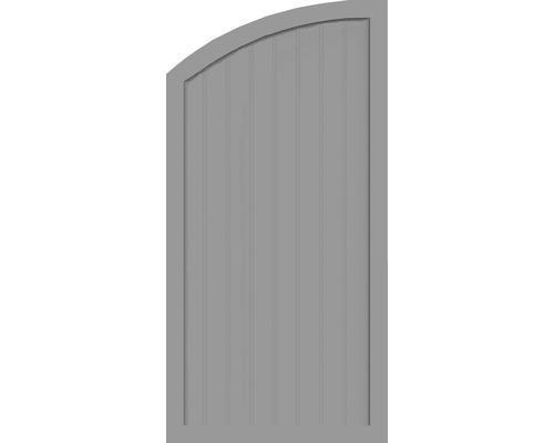 Sichtschutzelement Basic Line Typ H, links, Grau 90 x 180/150 x 4,8 cm
